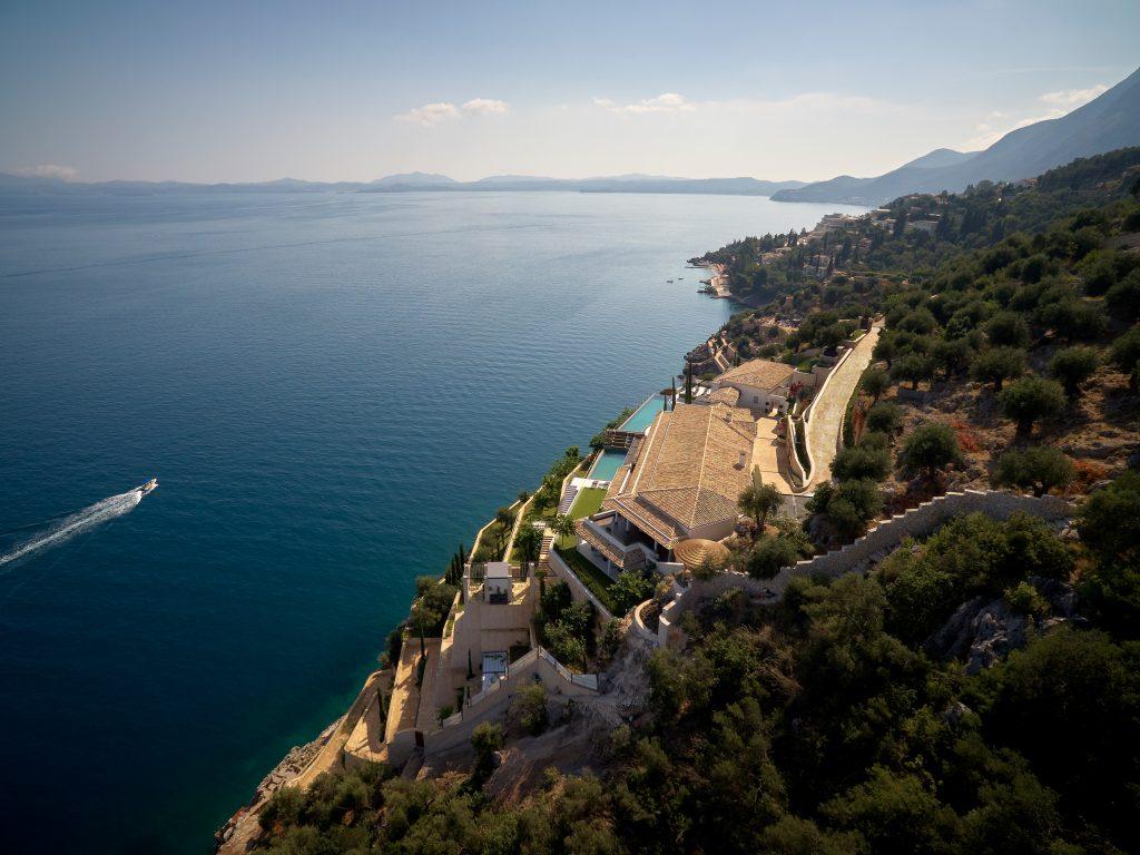 Ultra luxury villa Melissonia estate Corfu Greece