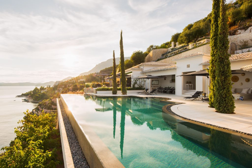 Ultra luxury villa Melissonia estate Corfu Greece