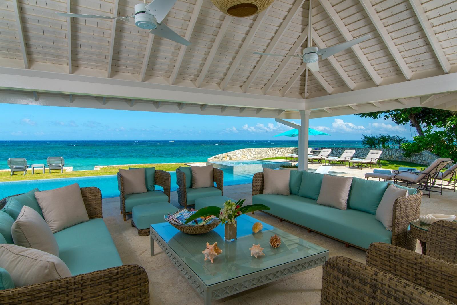 Beachfront Villa on Montego Bay Jamaica
